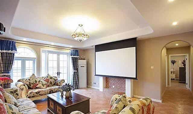 客厅家庭影院装修方案