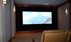 上海金山清风别墅家庭视听室设计
