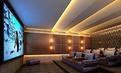 上海浦东超大屏魅力家庭影院系统设计方案(郑先生)
