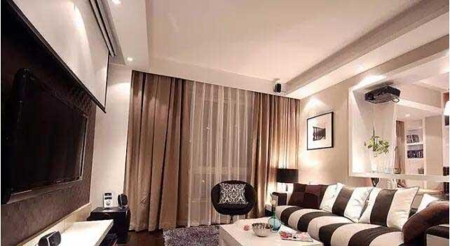 客厅家庭影院设计方案