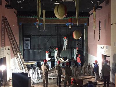 长鹿旅游休博园全景声恐怖影院安装