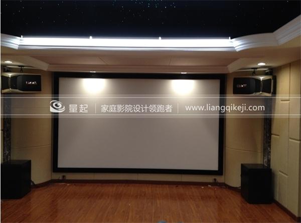 上海广粤路家庭影院+卡拉OK现场案例